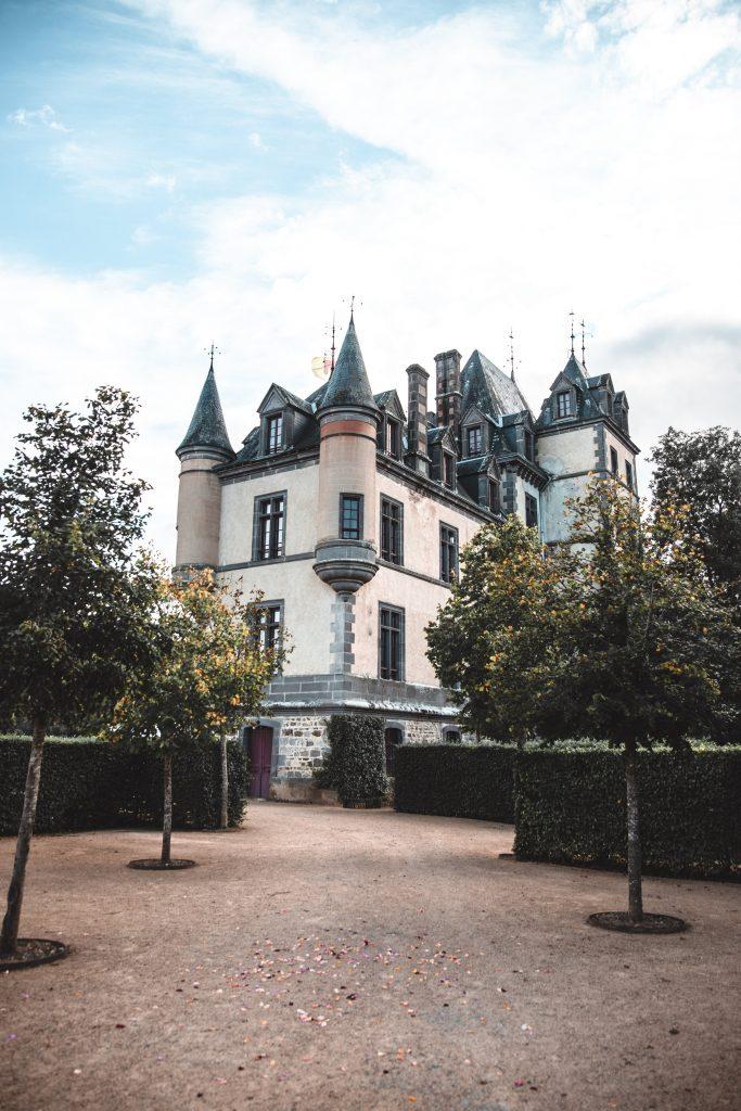 Vue d'ensemble du Château de Miremont