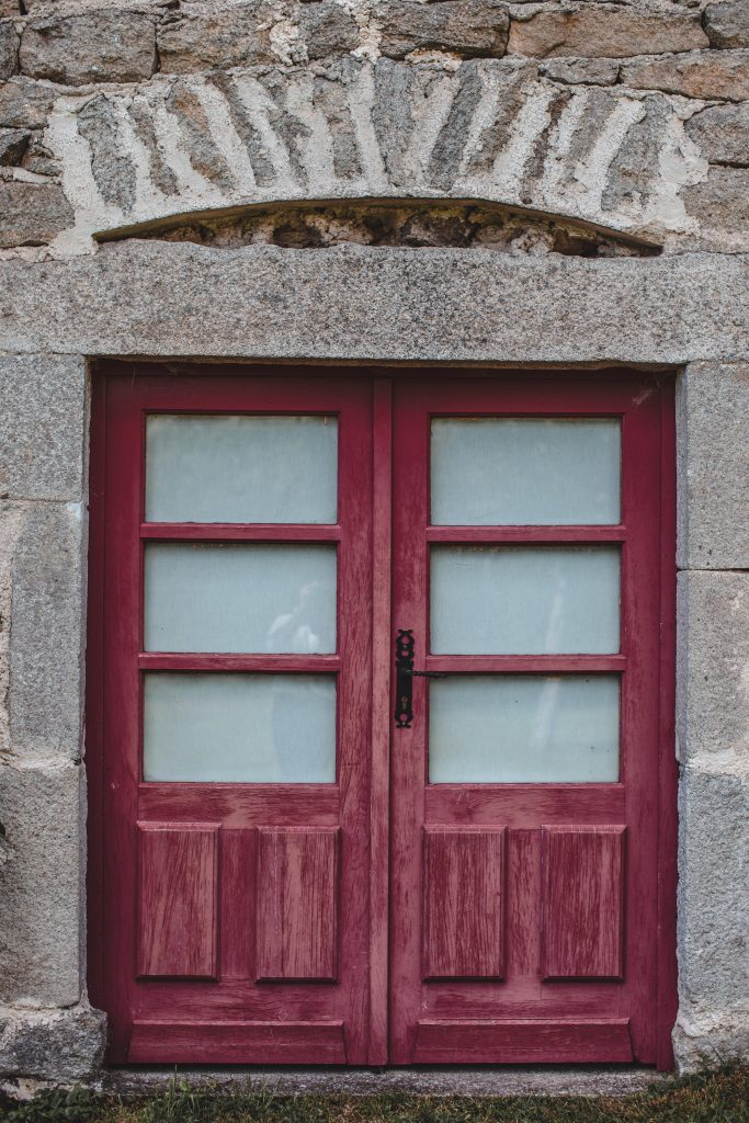 Porte d'entrée du Gite des Gorcia