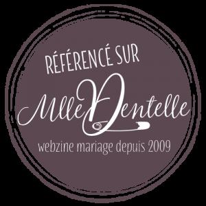Photographe Clermont-Ferrand Logo référencement Mademoiselle Dentelle